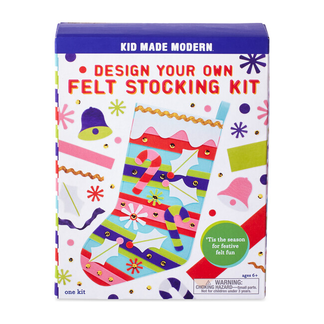 Design Your Own Felt Stocking Kit