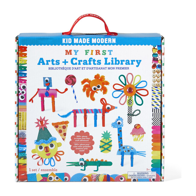 My First Arts and Crafts Library
