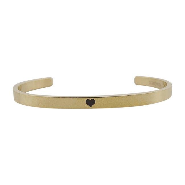 Baby & Child Heart Bracelet, Gold