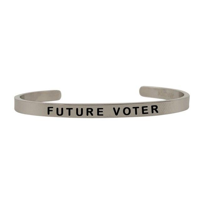 *Exclusive* Baby Vote Bracelet, Silver