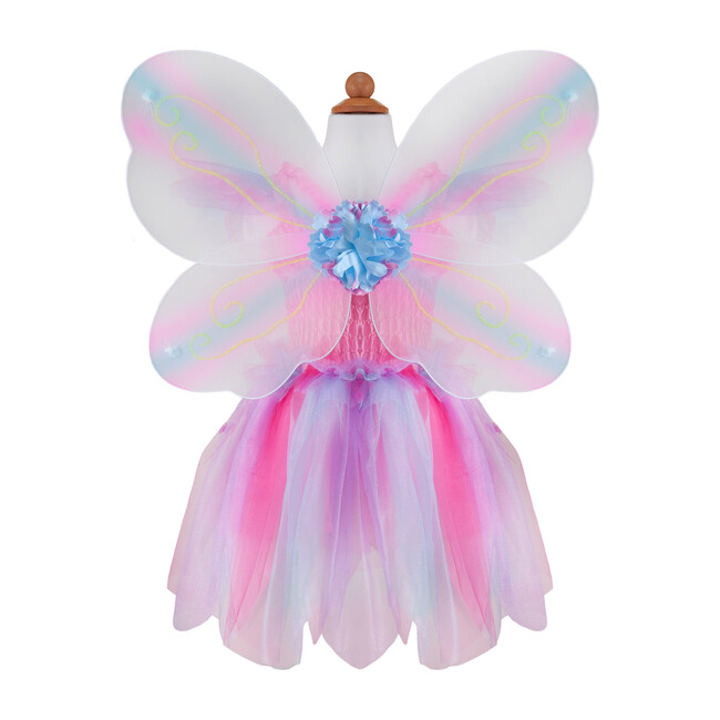 Butterfly Dress, Wings & Wand, Pink