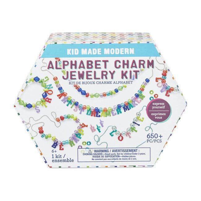 Alphabet Charm Jewelry Kit