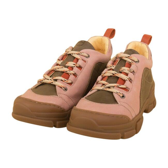 Uggly Sneaker, Green & Pink