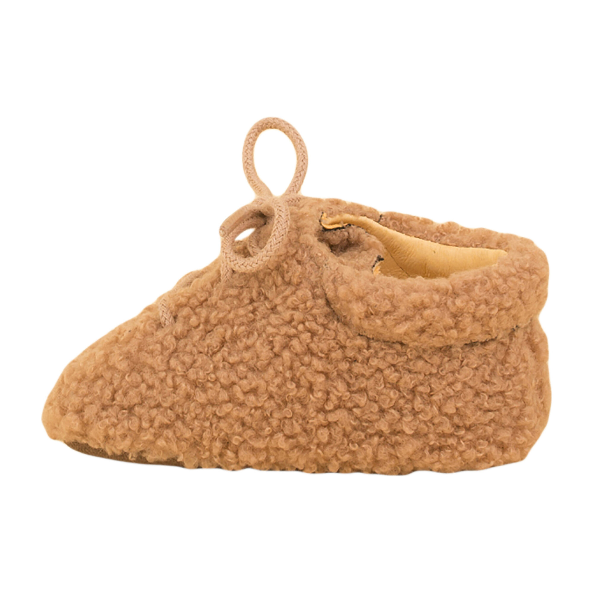Baby Soft Sheep Bootie, Camel