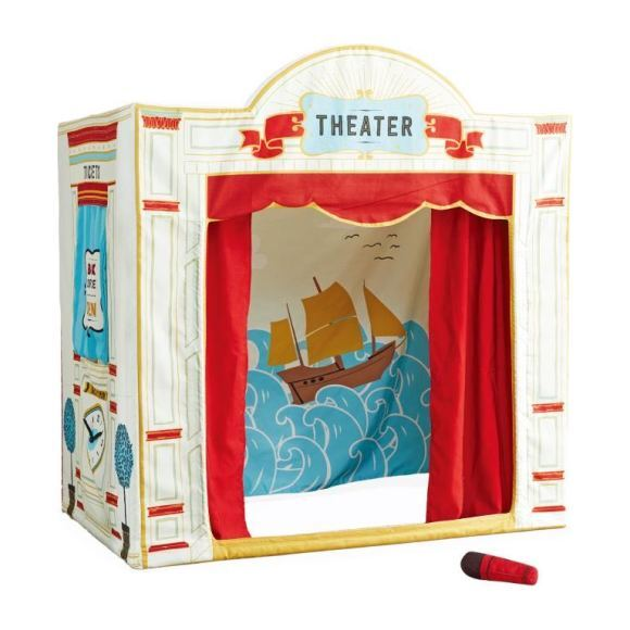 Playhouse with Microphone