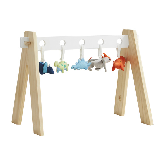 Baby Gym with Dinosaur Rattles