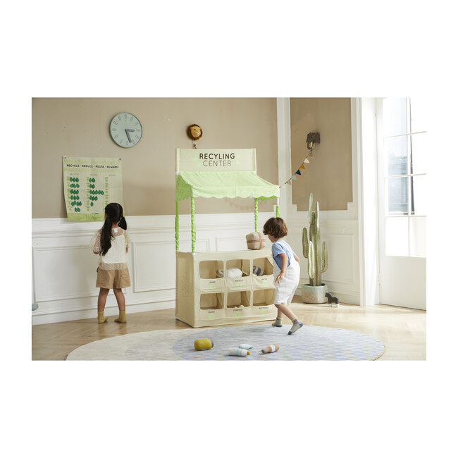 Live Green Recycling Play Stand