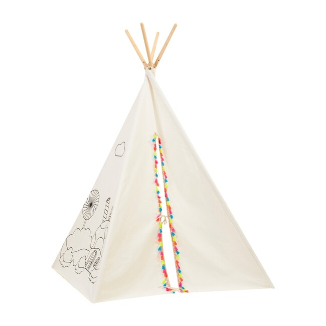 Painting Play Tent