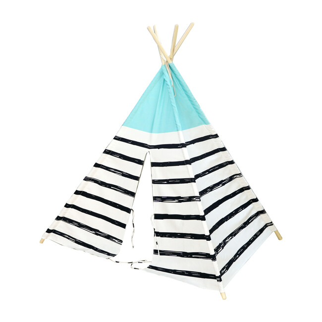 Blue Top Play Tent