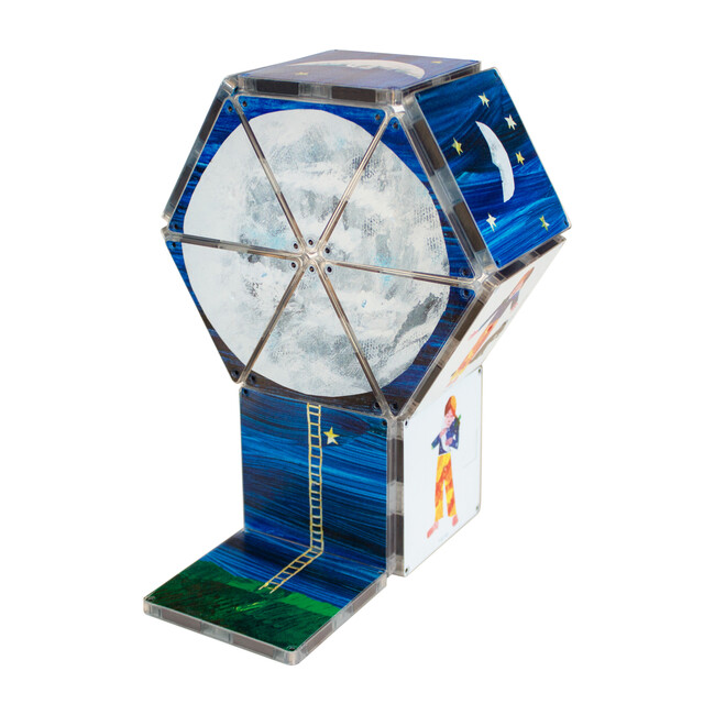 Papa, Please Get the Moon for Me Magna-Tiles Structures
