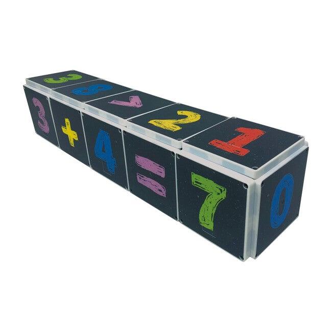 123 Chalkboard Magna-Tile Structures
