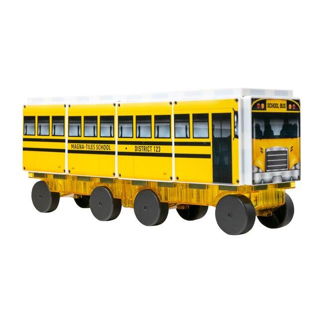 123 School Bus Magna-Tiles Structures
