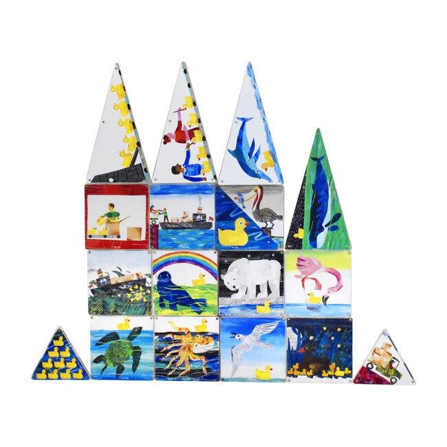 10 Little Rubber Ducks Magna-Tiles Structures