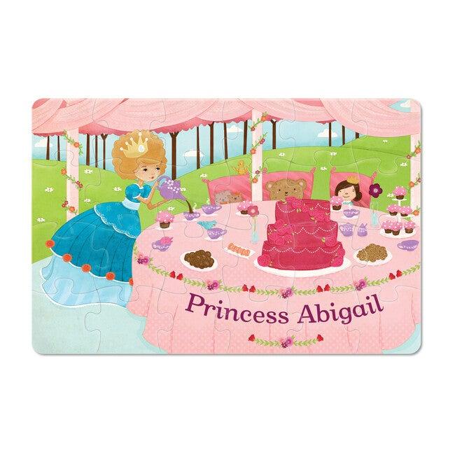Princess 24-Piece Personalized Puzzle, Light Skin