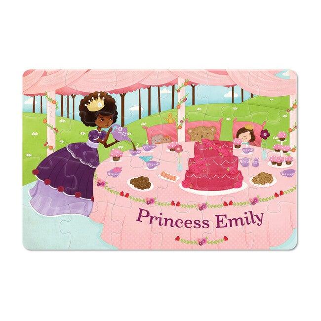 Princess 24-Piece Personalized Puzzle, Dark Skin
