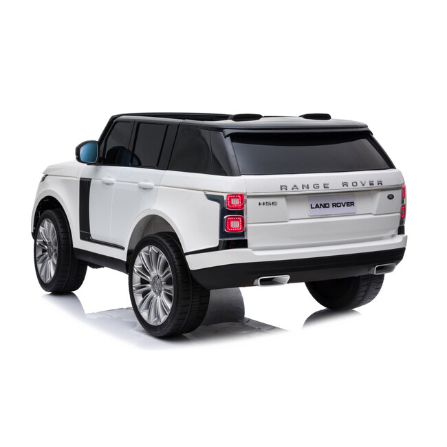 Range Rover 2 Seater, White