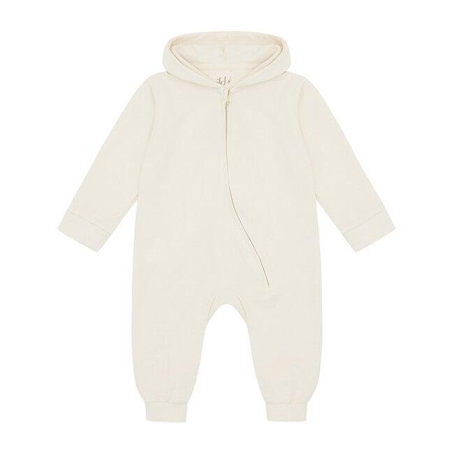 Organic Cotton Jumpsuit, Ecru