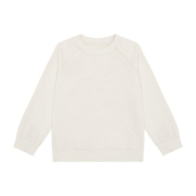 Organic Cotton Pullover, Ecru