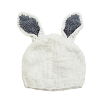 Bamboo Bailey Bunny White/Grey