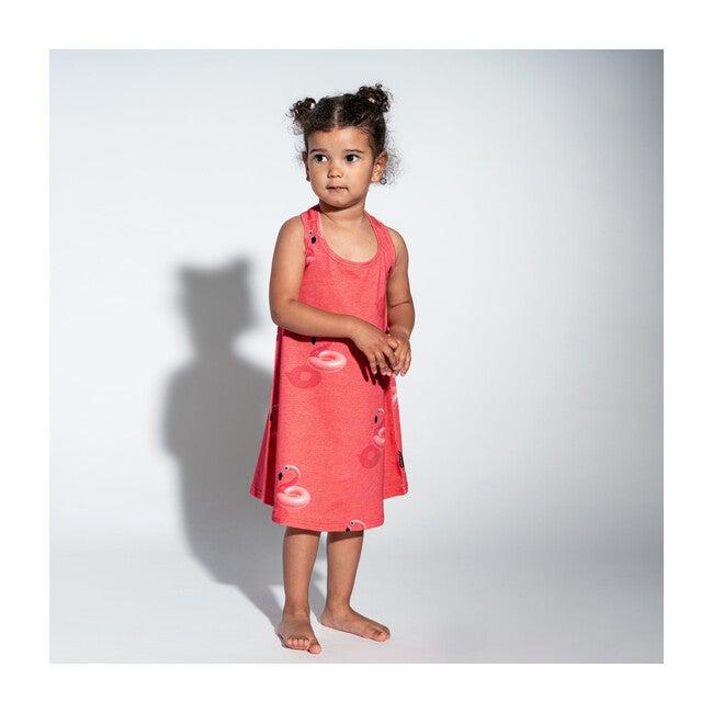 *Exclusive* Floating Flamingos Tank Dress
