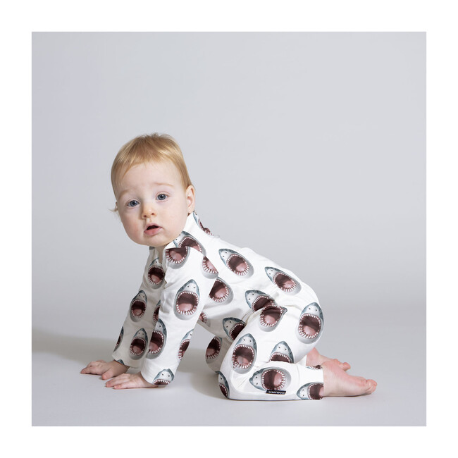 *Exclusive* Shark Baby Jumpsuit
