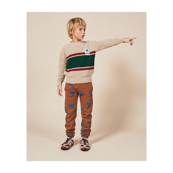 Patch Jumper, Stripes