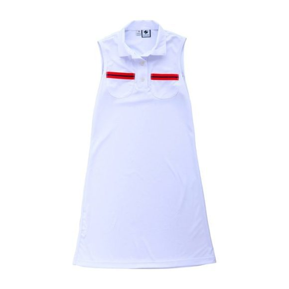 Lucy Tennis Dress White
