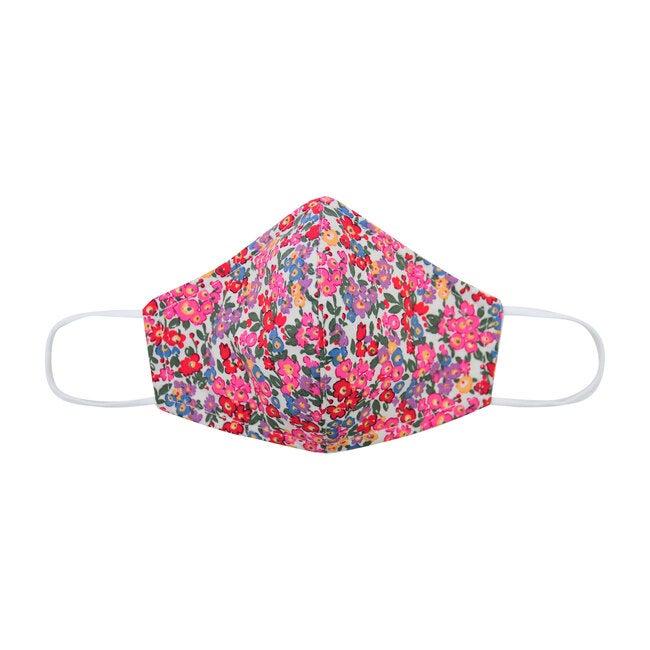 Cotton Face Mask, Multi Floral - Face Masks - 1