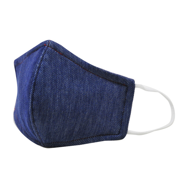 Cotton Face Mask, Denim Chambray