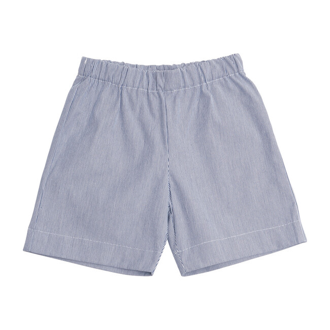 JD Pull-On Shorts, Seersucker
