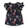 Print Dress, Dark Grey - Dresses - 2