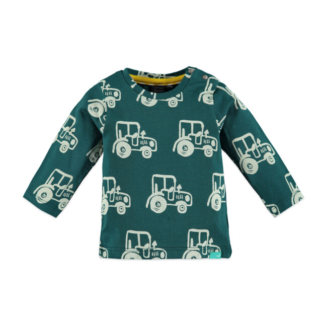 Tractor Long Sleeve T-Shirt,Petrol