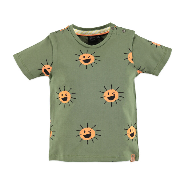 Short Sleeve Tee, Jungle Sun - Tees - 1