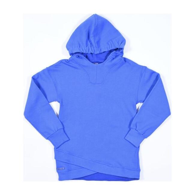 Electric Hooded Sweater, Blue