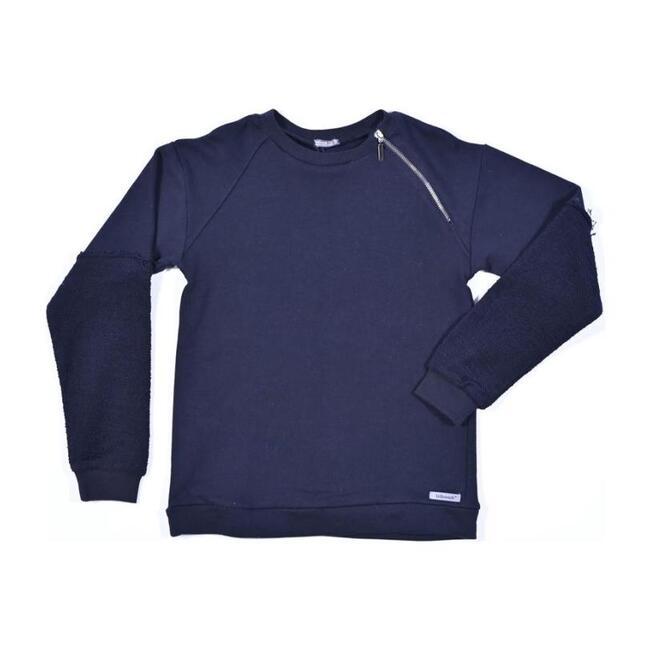 Double Sleeve Sweater, Black