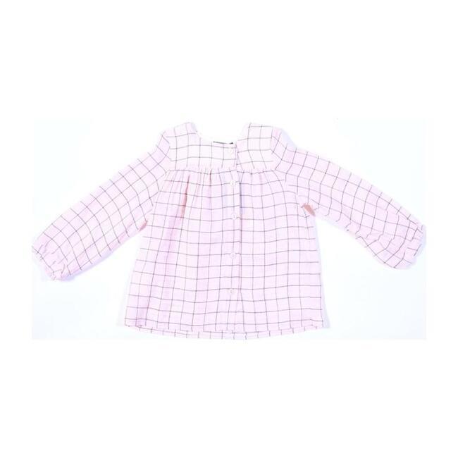 Plaid Buttoned Shirt, Pink