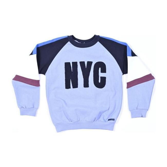 NYC Graphic Sweater, Blue