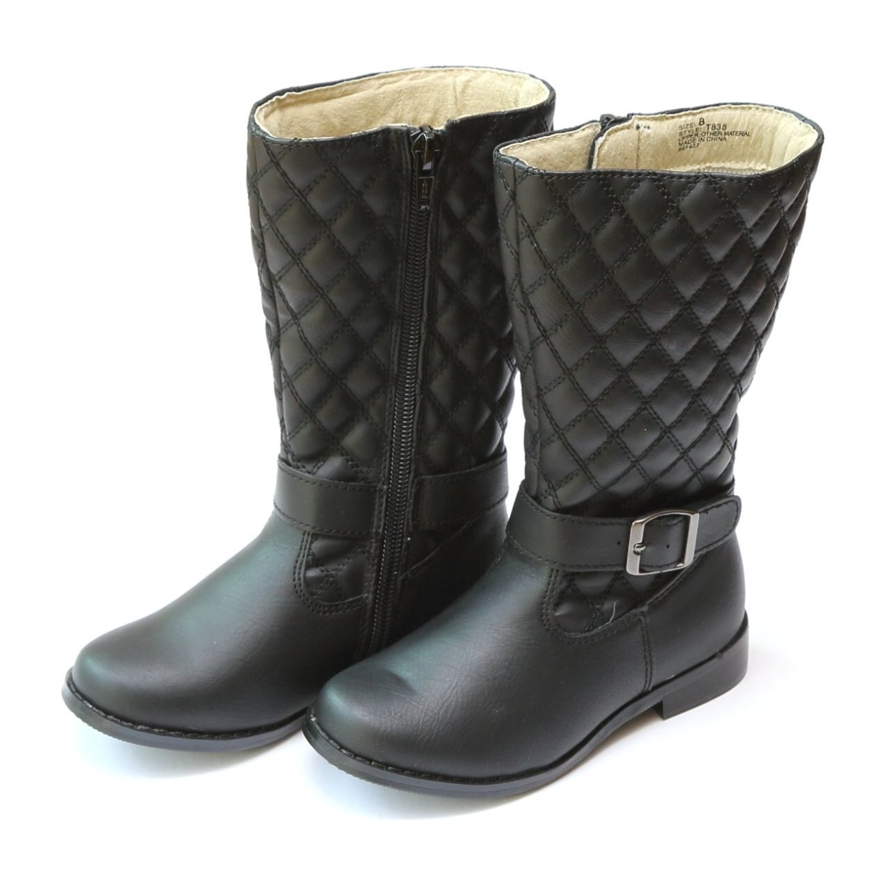 The Doll Maker Quilted Tall Boot