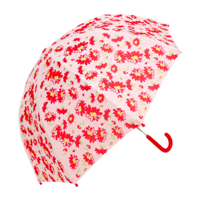 Umbrella, Red Flower