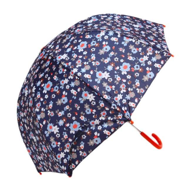 Umbrella, Navy Flower