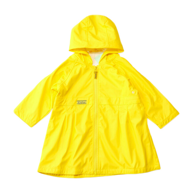 Raincoat, Solid Yellow