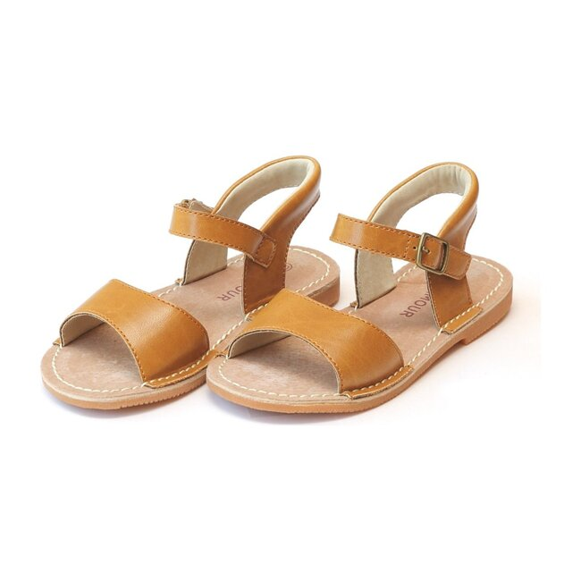 Kayla Open Toe Sandal, Mustard