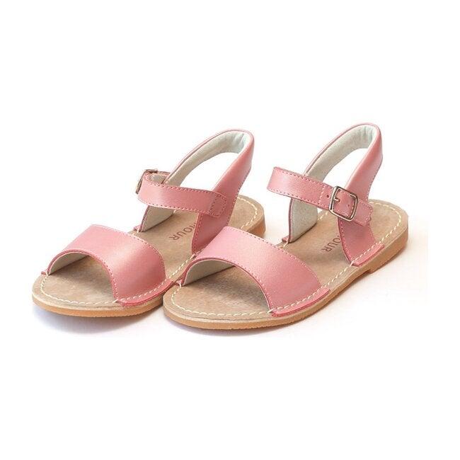 Kayla Open Toe Sandal, Guava
