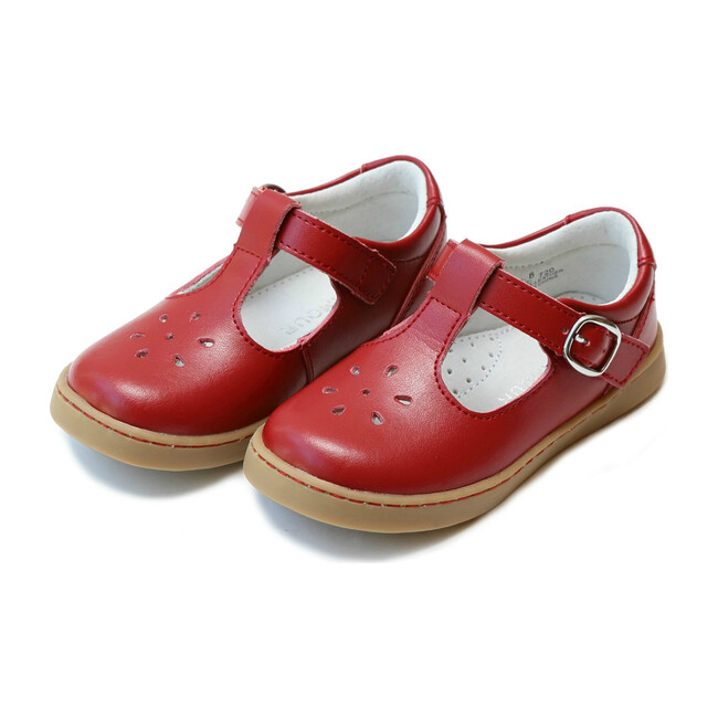 Chelsea T-Strap Mary Jane, Red