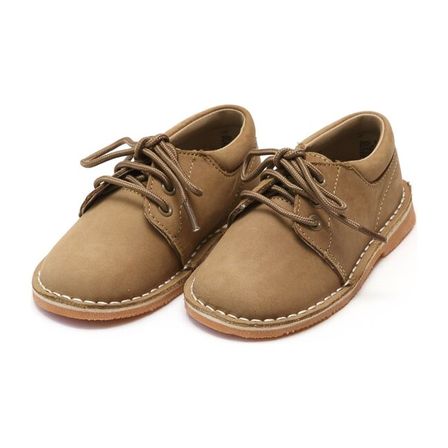 Tyler Stitch Down Nubuck Leather Lace Up Shoe, Khaki