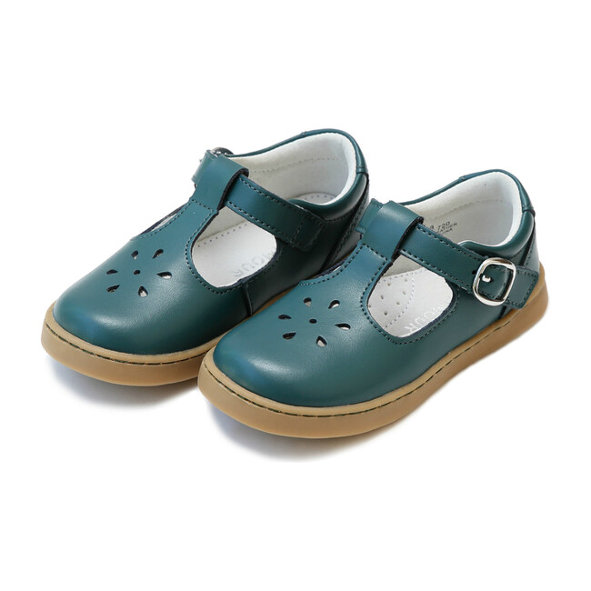 Chelsea T-Strap Mary Jane, Teal