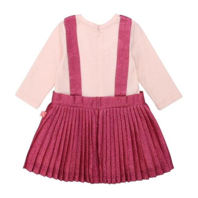 Glitter Jersey Dress, Pink