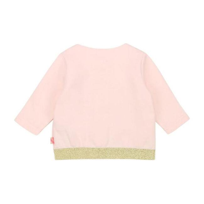 Heart Cardigan, Pale Pink