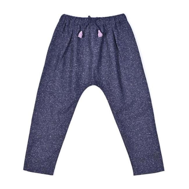 Dark Flannel Trousers, Grey