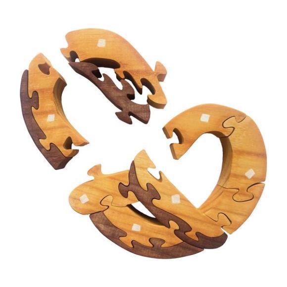 Pretzel Wooden Puzzle